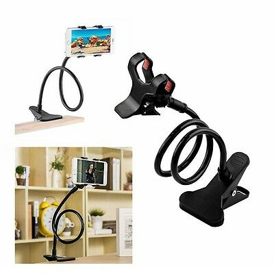 Universal Long Arm Lazy Mobile Phone Gooseneck Stand Holder Stents Flexible  Bed