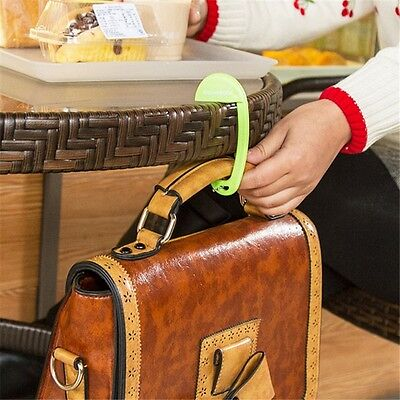 Portable Exquisite Plastic Desk Chair Handbag Tote Hook Hanger Holder Bag Parts