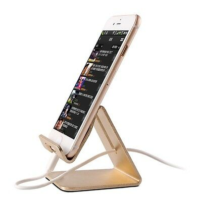 Universal Aluminum Metal Phone Stand Holder For iphone SE 6S 7 plus For Samsung