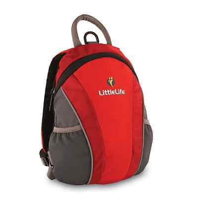 LittleLife Toddler Runabout Daysack With Reins - Red