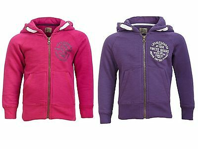 'Life & Legend' Girls Hoodie - Red Or Purple - Ages - 2-10 Years