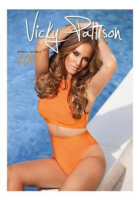 Vicky Pattison Official 2017 Large Poster Wall Calendar + Free Uk Postage !!