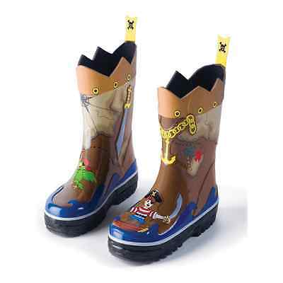 Kidorable Wellies - Pirate - Size7