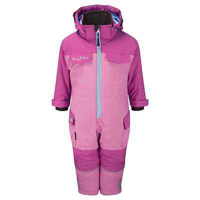 Kozi Kidz Forest Snowsuit - Berry Pink - 3-4 Years