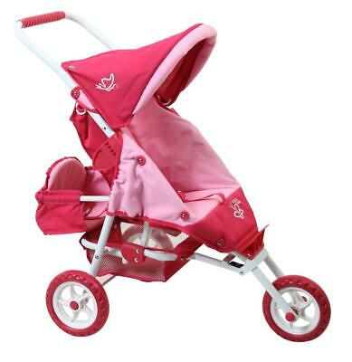 Just Like Mum Mini Marathon With Toddler Seat (Butterfly Pink)