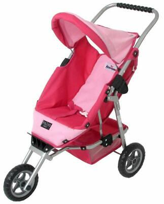 Valco Baby Just Like Mum Mini Marathon Doll Stroller - Hot Pink/Pink for Childre