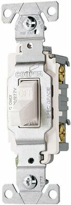 Eaton Commercial Toggle Switch Single Pole, 20 Amp