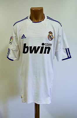 Real Madrid Spain 2010/2011 Home Football Shirt Jersey Camiseta Adidas