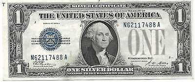 1928A Silver Certificate Fr1601 $1 Choice Uncirculated