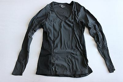 New Skins Women RY400 Compression Recovery Top Base Layer Large Long Sleeve