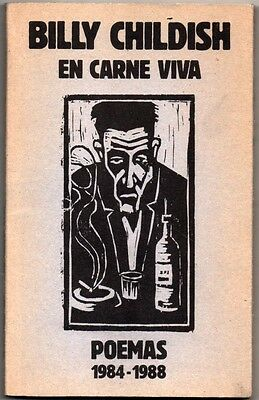 En Carne Viva - Poemas 1984-1988 - Billy Childish  - Texto Ingles-Castellano