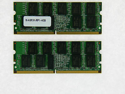 M-ASR1K-RP1-4GB Approved 4GB memory for Cisco ASR 1000 RP1