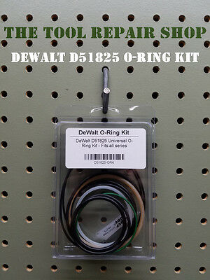 Tool Repair Kit for DeWALT D51825 Universal O-Ring Kit