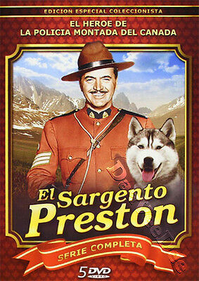 Sergeant Preston of the Yukon - Complete Series 1 NEW PAL Cult 5-DVD Set Simmons