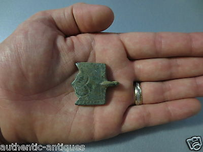 Gorgeous Antique Ottoman Belt Buckle Middle Ages - RARE - HALF