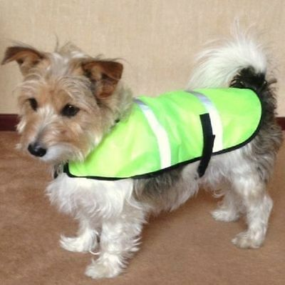 Small Dog High Visibility Jacket/ Dog Safety Vest/ Puppy Reflective Jacket