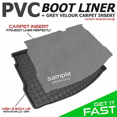 BMW 3 Series (E91) TOURING / ESTATE 2005 - 2012 Tailored PVC Boot Liner [G]
