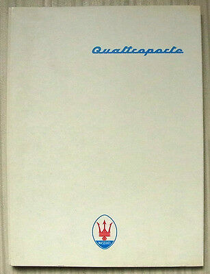 MASERATI QUATTROPORTE Car Press Media Pack Photos Slides 1994