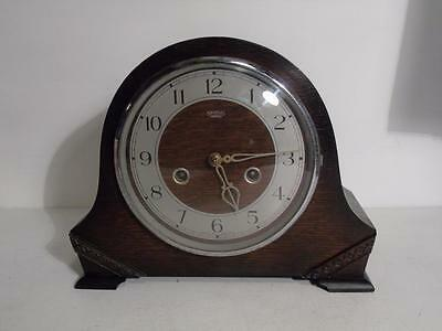 Vintage mantle clock Smiths Enfield 1950s FREE UK P&P
