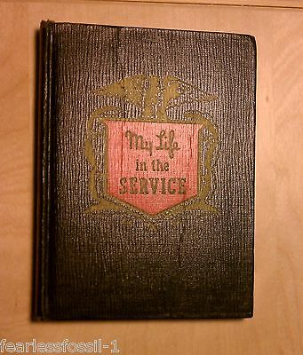 My Life in the Service: Army Issue Diary WWII-mid 50s, never used, FREE SHIPPING