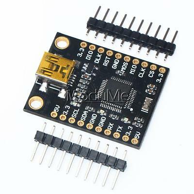 STM32F103C8T6 Board USB To SPI I2C IIC Serial Port Adapter Communicate Module MO