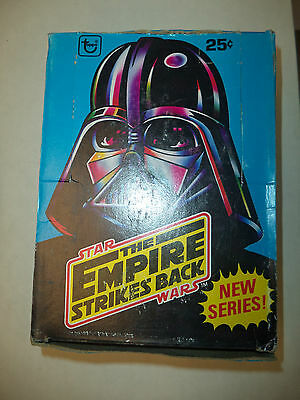 1980 Star Wars Empire Strikes Back Factory Sealed Series 2 36 Box Vintage Rare