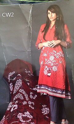 SANA SAFINAZ  INSPIRED Embroidered LAWN SUIT STITCHED Gul Ahmed ,Asim jofa