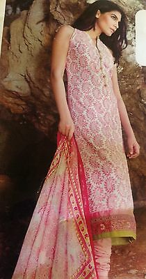 SANA SAFINAZ  INSPIRED Embroidered LAWN SUIT STITCHED Gul Ahmed Dhanak.damani
