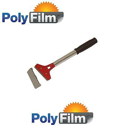 Large Handle Professional Scrapper Tool - Window Tint Film Application Removal