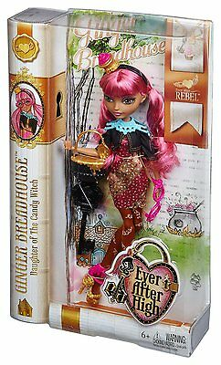 Ever After High Rebel Ginger Breadhouse Doll - New