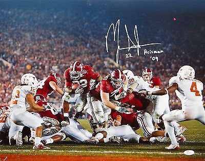 Mark Ingram Autographed 16x20 Against Longhorns Photo- JSA W Authenticated