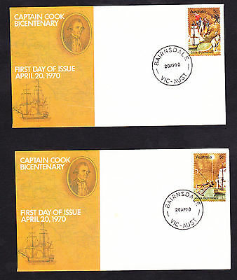 14X Captain Cook 5C Stamp on Official Australia Post Small FDC,!!!! SCARCE&RARE!