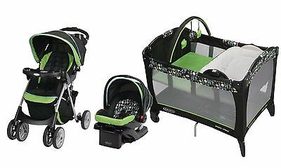Baby Stroller Car Seat Playard Travel System Click Connect New and Boxed