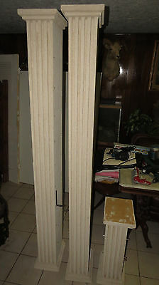 Lot of 3: Architectural Fluted Column s *Local Pickup Only - Houston, TX*