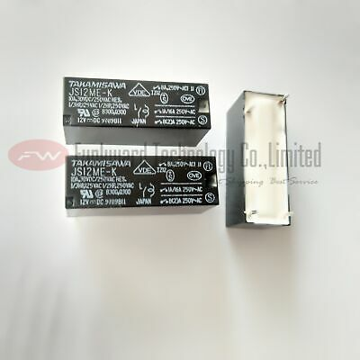 TAKAMISAWA JS12M-K SPST Power Relay 10A 12VDC x 2pcs