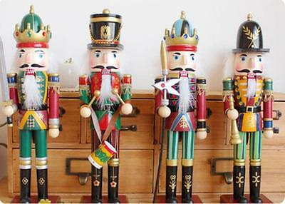 Wooden Soldiers Walnut Guards Christmas Nutcracker Soldiers Decoration Ornaments