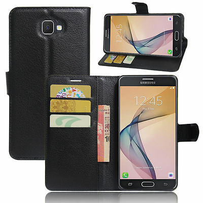 Flip Magnetic Card Wallet PU Leather Case Cover For Samsung Galaxy ON 5 2016