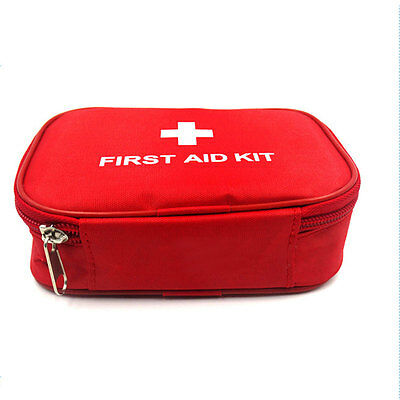 Home First Aid Kit Rescue Outdoor Emergency Bag Case Travel Camping Medical