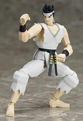 Yuuki Akira Virtua Fighter Figma 2P Color ver. FREEing Action Figure
