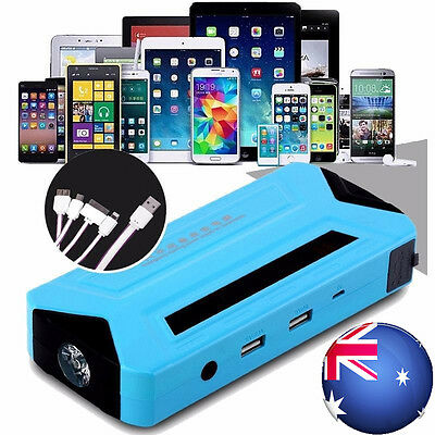 Portable 50800mAh Vehicle Car Jump Starter Booster Battery Power Bank Charger