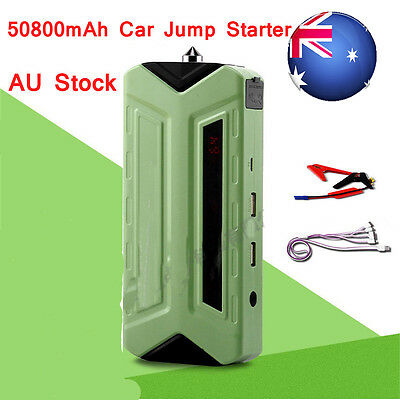 Car Jump Starter 50800mAh Vehicle Truck Booster Battery Power Bank Charger 12V