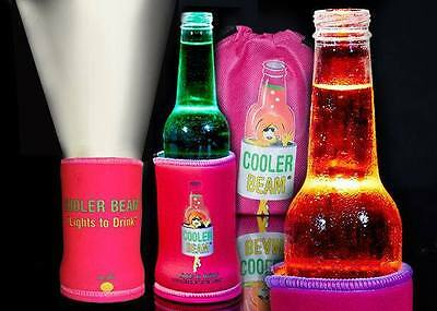 Pink Cooler Beam Stubby Cooler Torch's - Party's Wedding Fishing Camping