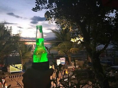 Green Cooler Beam Stubby Cooler Torch's - Party's Wedding Fishing Camping