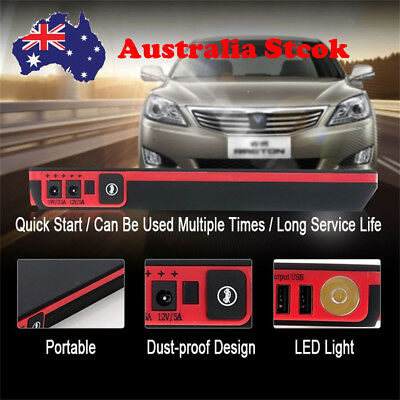 88800mAh Car Jump Starter Power Bank Booster Charger Mobile Emergency Battery AU