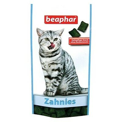 Beaphar Zahnies 35 g, Snack pour chats, NEUF