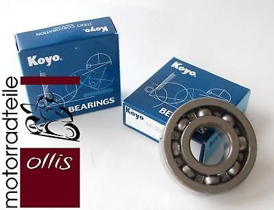 KOYO crankshaft bearing set - Kawasaki KX 250 - year '87-'01 - 2 bearings