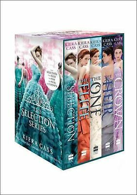The Selection Series 1-5 by Kiera Cass Paperback Book