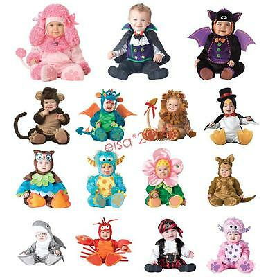 Cute Infant Baby Outfit Cosplay Clothing Toddlers Fancy Animal Dress Costume