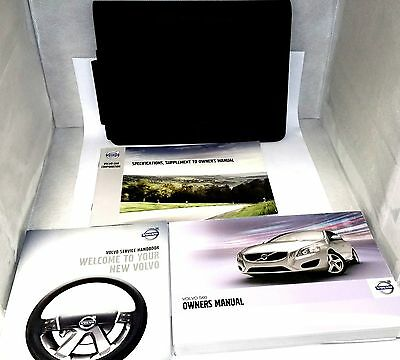 Volvo S60 Owners Manual Pack With Blank Service Book Brand New