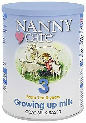 Nanny Care Growing up Milk Goat Milk Growing Up Nutrition 900g Nannycare Stage 3